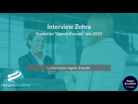 Interview Zohra   Agent d'escale