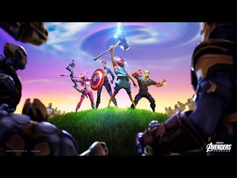 AVENGERS END GAME (Fortnite Battle Royale)