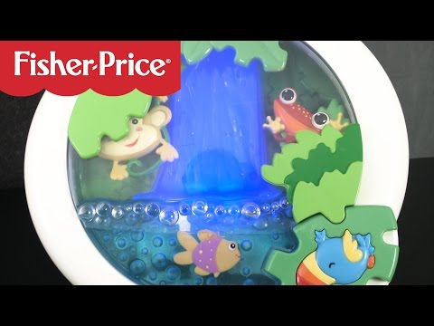 Rainforest Waterfall Peek-a-Boo Soother From Fisher-Price