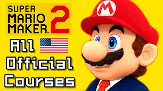 Super Mario Maker 2 All OFFICIAL Nintendo Courses (US - Switch)