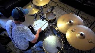 Underoath - Anyone Can Dig A Hole But It Takes A Real Man To Call It Home (Drum Cover)