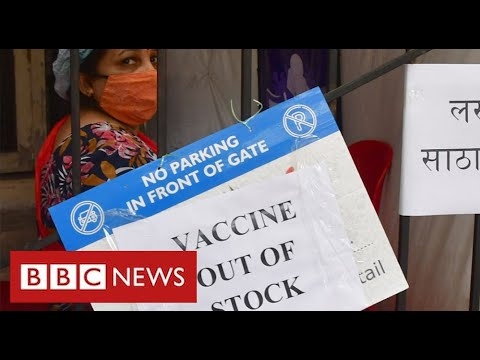 "India ""running out of vaccines"" as Covid crisis deepens - BBC News - BBC News"