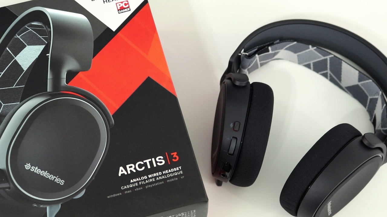 steelseries arctis 3 7 1 surround gaming headset review youtube. Black Bedroom Furniture Sets. Home Design Ideas