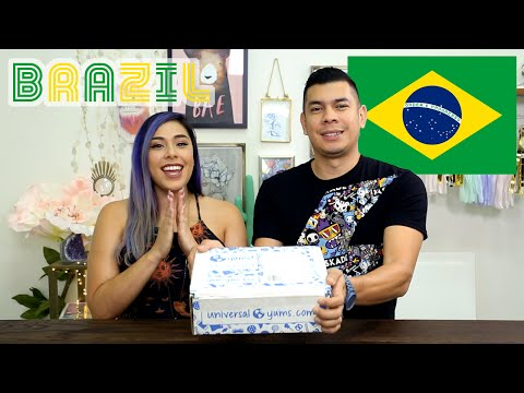 BRAZIL TASTE TEST! - Yum Box