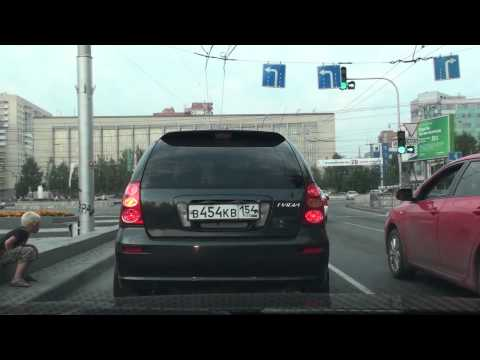 Driving in Novosibirsk, Russia, Full HD / Катаюсь по Новосиб