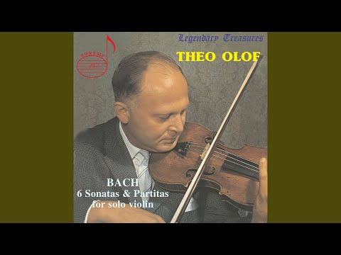 Violin Sonata No. 1 in G Minor, BWV 1001: I. Adagio