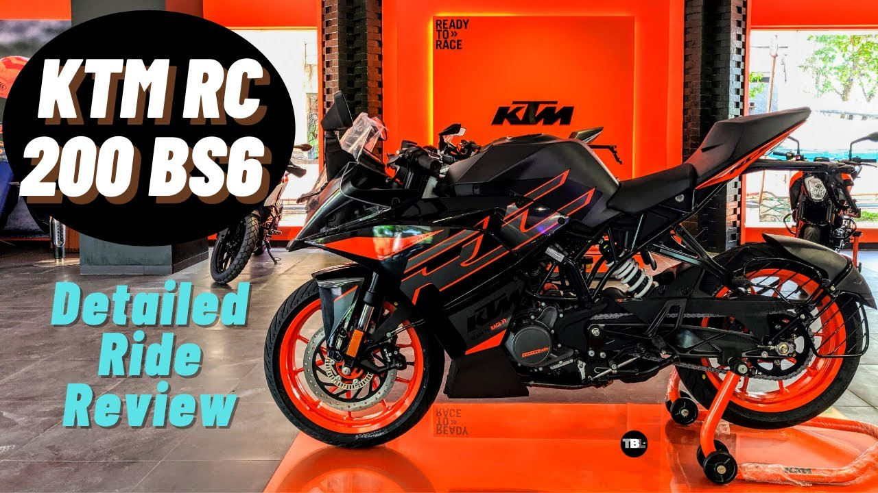2020 KTM RC 200 BS6   Price   Specs   Detailed Ride Review