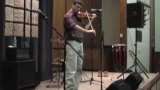 Virtuoso Lior Kamenitsky fiddles tribute to spiritual Jewish Rabbi Shlomo Carlebach