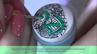 2015 Advance Nail Stamping For Beginners #2