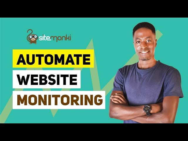 Automate Website Monitoring with SiteMonki
