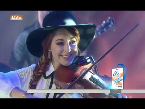 Lindsey Stirling - Something Wild ft. Andrew McMahon in the Wilderness (Today Show Performance)