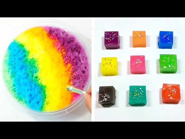 The Most Satisfying Slime ASMR Videos | New Oddly Satisfying Compilation 2019 | 41