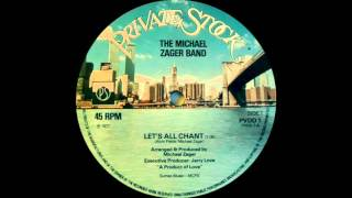 The Michael Zager Band - Let's All Chant (Private Stock Records 1977)