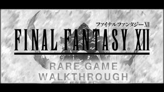 FINAL FANTASY XII Nazarnir Rare Game Walkthrough Part 42 (PS2)
