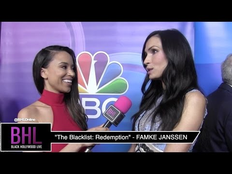 Famke Janssen | NBC Press Tour 2017