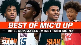 BEST OF Mic'd Up Highlights‼️🎤 Sharife Cooper, Jalen Green, Josh Christopher, Mikey Williams, & MORE