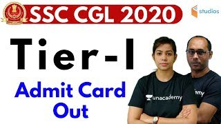 SSC CGL 2020 (Tier-1) | Admit Card Out