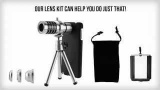 Camera Phone Lens Kit for Samsung Galaxy Note 3 - User Guide