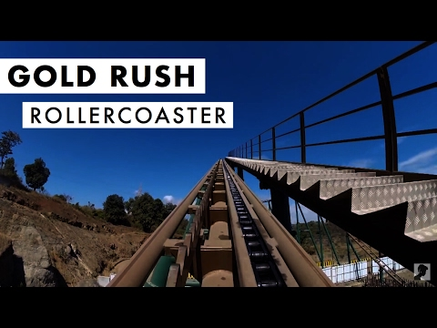 Adlabs Imagica   Gold Rush Mine Rollercoaster   Mumbai