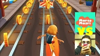 Subway Surfers Crazy Challenge Collect NO COINS Versus Marco Masri