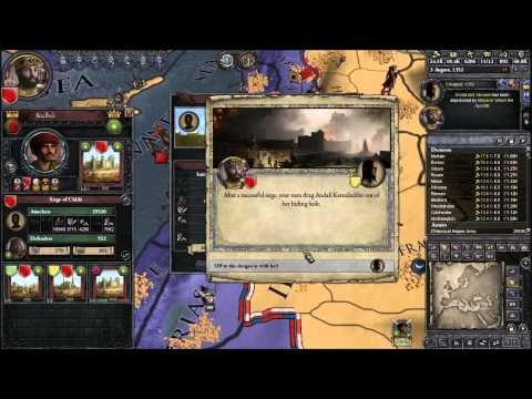 Let's Play Crusader Kings II 106 (The Shores Of Tripoli, King Diogenes Adventures)