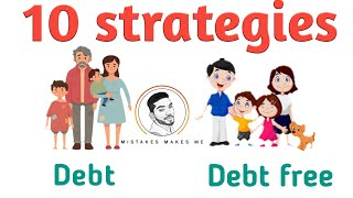 10 strategies for debt to free | Tamil | Sathish