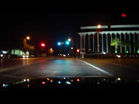 Midnight Driving In Upper Kirby, Houston, TX