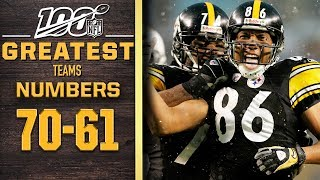 100 Greatest Teams: Numbers 70-61 | NFL 100
