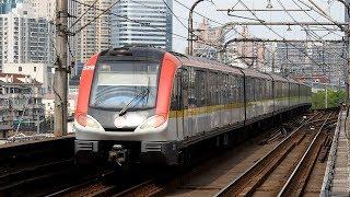 2019/04/13 【上海地下鉄】 3号線 03A01型 0326編成 宝山路駅 | Shanghai Metro Line 3: 03A01 Series #0326