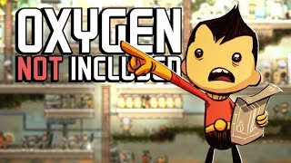 I Was Sent To Space - Oxygen Not Included #1   JeromeACE