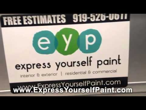 Touch Up Your Garage Floors with Express Yourself Paint