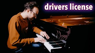 DRIVERS LICENSE by Olivia Rodrigo (Piano Cover Sheet Music)