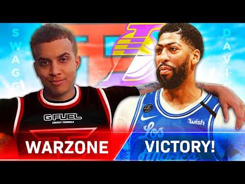 Anthony Davis & FaZe Swagg Play Warzone!