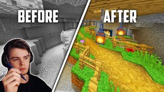 13 minutes and 5 seconds of professional minecraft building