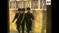 CHINA: BEIJING: HEAVILY ARMED POLICE GUARD SOUTH KOREAN CONSULATE