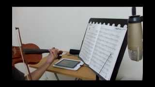 蕭煌奇-只能勇敢(Brave Heart)  Violin Cover