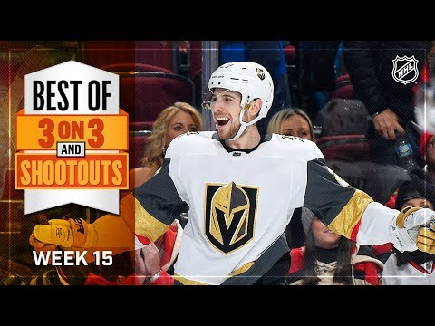 Best 3-on-3 and Shootout Moments from Week 15