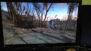 Жутко проседает fps в fallout 4