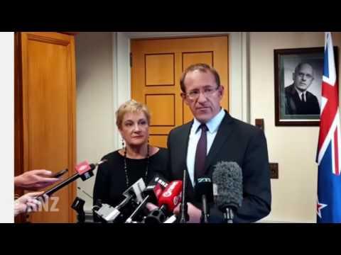 Andrew Little responds to John Key's resignation