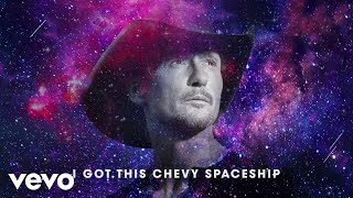 Tim McGraw Chevy Spaceship