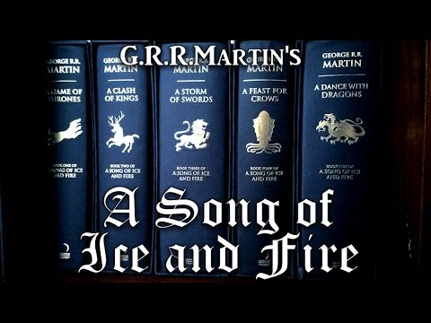 """A look at: """"A Song of Ice and Fire"""" Deluxe Editions by Harper Voyager"""