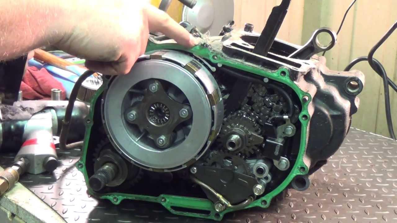 1984 Honda Xl 350 Clutch Removal Youtube
