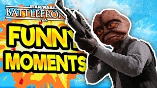 Star Wars Battlefront 2 Funny & Random Moments [FUNTAGE] #33  - Dilly Dilly!