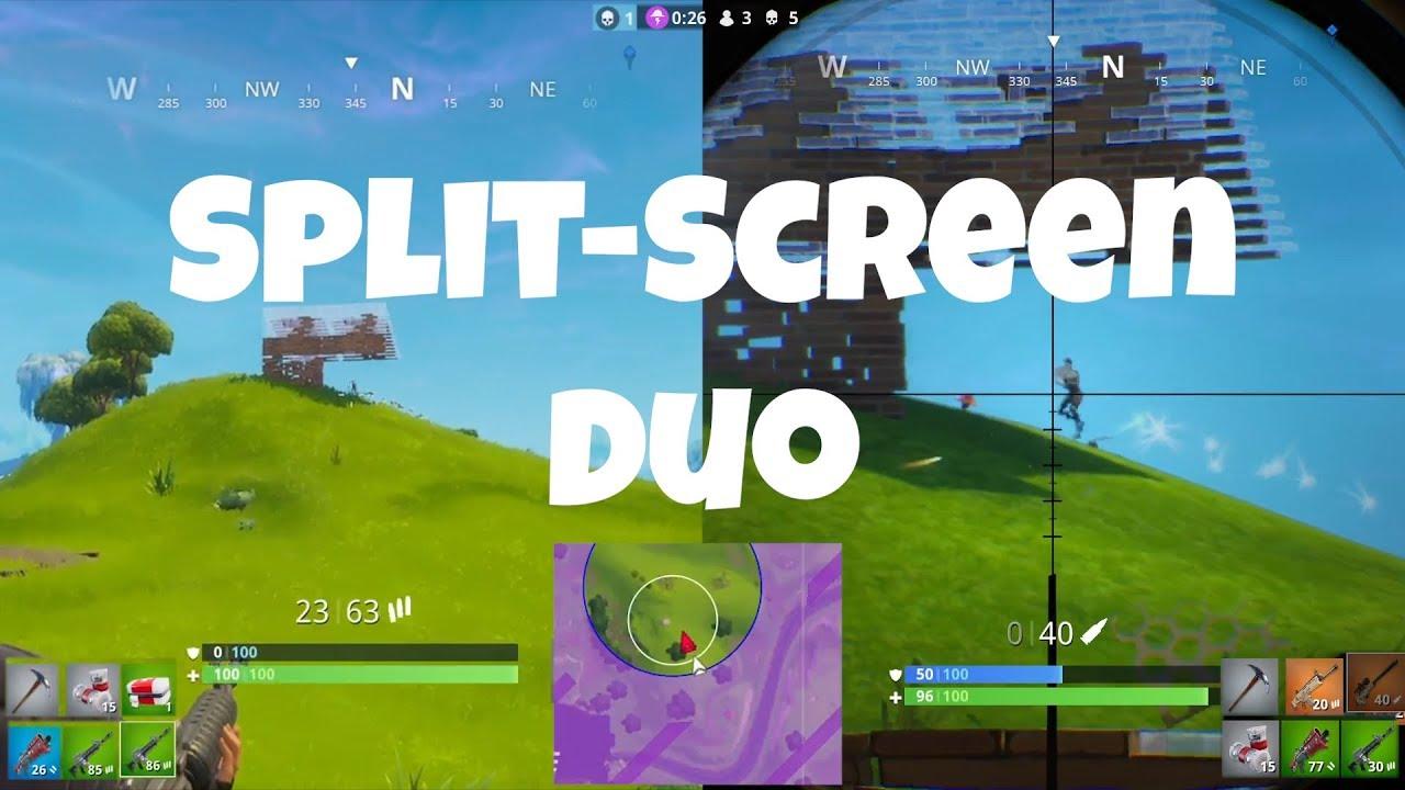 Fortnite Split-Screen Duo - YouTube