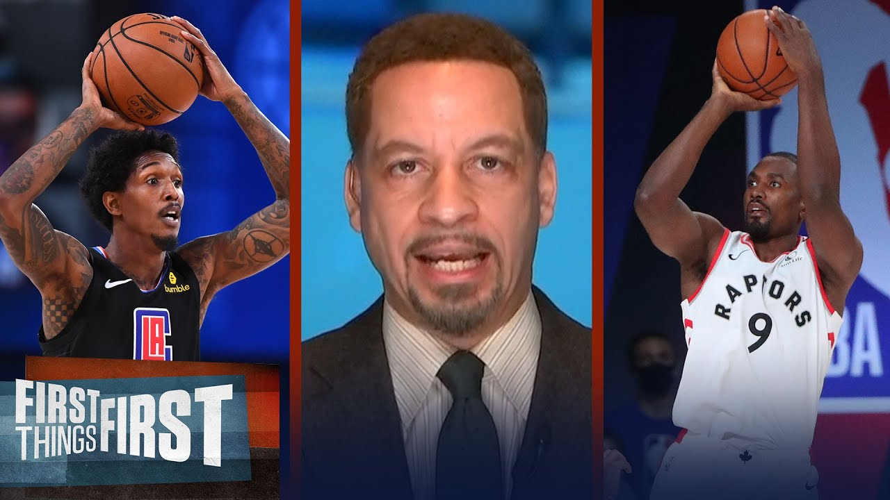 Clippers are strong w/ add of Ibaka; talks Lou Williams at PG — Broussard | NBA | FIRST THINGS FIRST