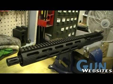 AR15: Chopping a Front Sight /  Gas Block Mod