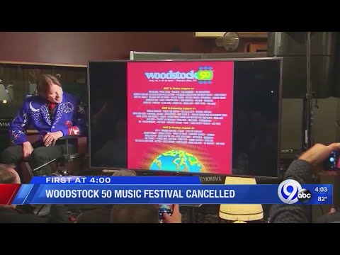 Taylor J - Woodstock 50 is Not Happening
