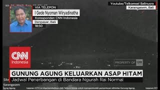 Download Video Gunung Agung Keluarkan Asap Hitam MP3 3GP MP4