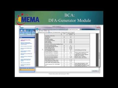 DFA-Generator BCA 2016
