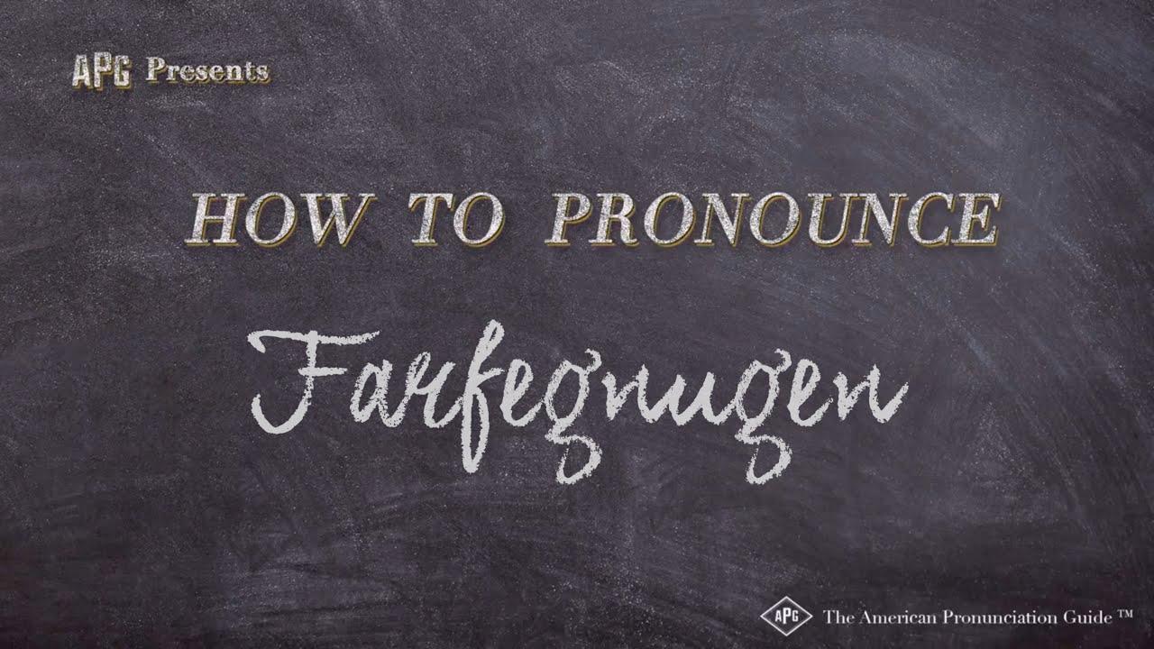 How To Pronounce Farfegnugen Farfegnugen Pronunciation Youtube Ted farfegnugen is on facebook. how to pronounce farfegnugen farfegnugen pronunciation